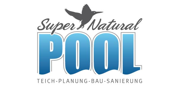 logo super natural pool